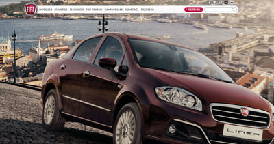 A BRAND NEW FIAT WEBSITE